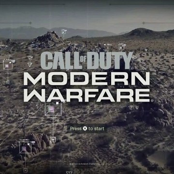Call of Duty: Modern Warfare 2019 [Multiplayer Main Menu With Music/Theme]
