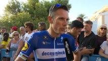 """Vuelta - Gilbert : """"J'espère gagner une étape"""""""