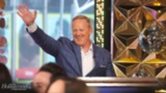 """Sean Spicer on 'Dancing With the Stars' Backlash: """"Hope It Will Be a Politics-Free Zone""""   THR News"""