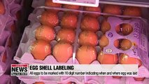 Laying date to be printed on all egg shells in S. Korea starting Friday