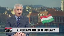 Three S. Koreans tourists die in Hungary on Wednesday in rail crossing crash