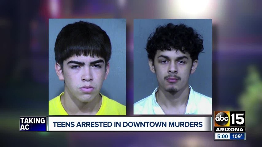 Two teens arrested in murder of Phoenix coffeehouse works