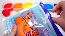 97.How To Make Rainbow Color Foam Jelly Monster Slime For Kids Children