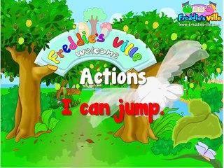 Learning Kids - Children lesson -Actions Verbs Present Simple, English Lessons for Kids, ESL (3)