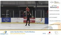 Championnats québécois d'été 2019 présenté par Kloda Focus, Senior Couple Prog. Court