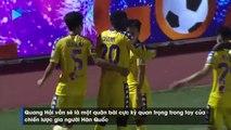 Quang Hải thi đấu không biết mệt mỏi, đóng vai trò quan trọng ở đội bóng Thủ Đô| HANOI FC