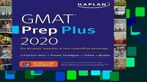 [NEW RELEASES]  GMAT Prep Plus 2020: 6 Practice Tests + Proven Strategies + Online + Mobile
