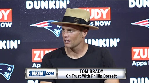Tom Brady On Trust With Phillip Dorsett