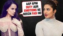 Kangana Ranaut SUPERB REACTION On Pakistan Against Priyanka Chopra UNICEF Controversy