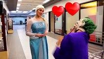 Frozen Elsa and Joker taking hostage and torturing