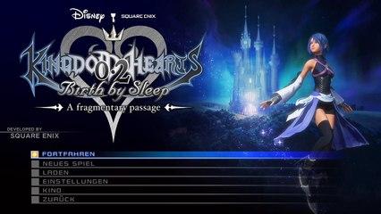 #001   Let´s Play Kingdom Hearts: 0.2 Birth by Sleep Final Chapter Prologue - A fragmentary passage   German   Deutsch   Run 1