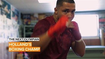The Next Olympian: The Netherlands is rooting for boxer Kilat Hallie