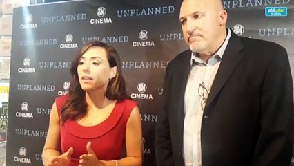 Ashley Bratcher and Mike Manhardt of 'Unplanned' give advice to women contemplating abortion