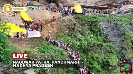 Catch live and exclusive visuals from nagdwar yatra, panchmarhi.