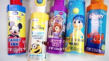 275.Colors PEZ Disney Candy Fan Mickey Mouse Sofia Princess Finding Nemo Inside Out Minions Toy