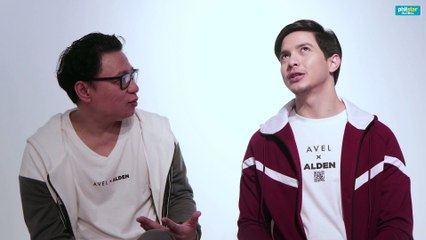 Alden Richards and Avel Bacudio on blindness