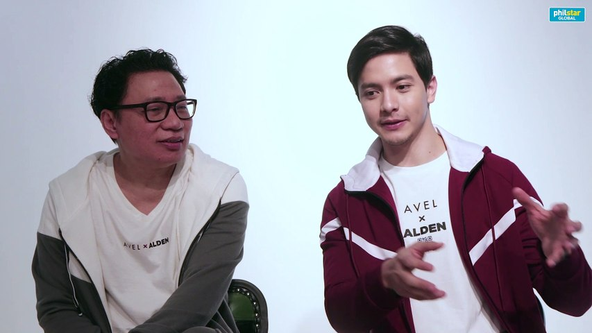Alden Richards and Avel Bacudio on Avel x Alden collection