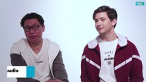 Alden Richards and Avel Bacudio on fashion