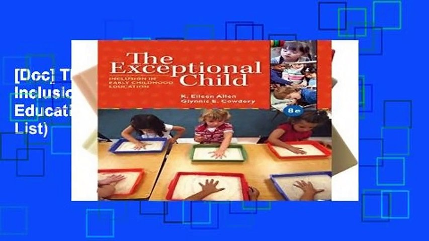 [Doc] The Exceptional Child: Inclusion in Early Childhood Education (Mindtap Course List)