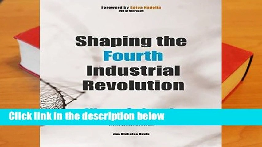 [Doc] Shaping the Fourth Industrial Revolution