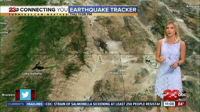 5.0 earthquake in Little Lake, Ca