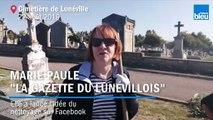 Opération nettoyage au cimetière de Lunéville