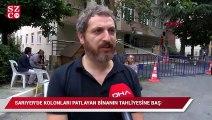 İstanbul'da kolonları patlayan binanın tahliyesi başlandı