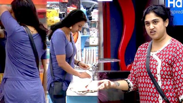 Bigg Boss 3 Tamil : Unseen : Kasthuri-யை வம்புக்கு இழுக்கும் Vanitha- வீடியோ
