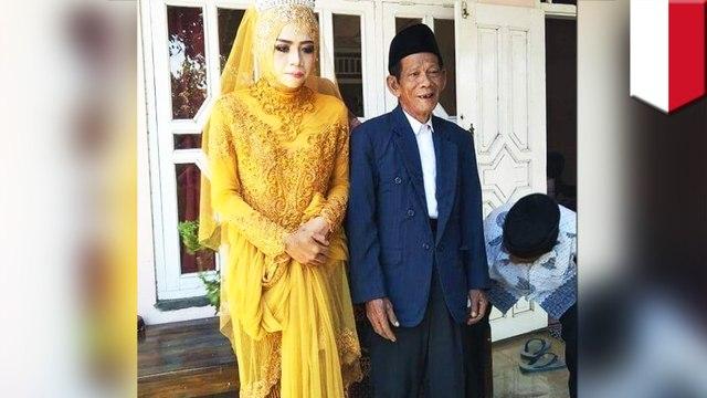 Kisah cinta Mbah Dirgo dan Nur, kakek 83 tahun dan wanita 27 tahun - TomoNews
