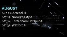 NUFC fixtures - August