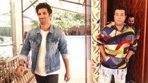 Sushant Singh Rajput & Varun Sharma promote Chhichhore;Watch video | FilmiBeat
