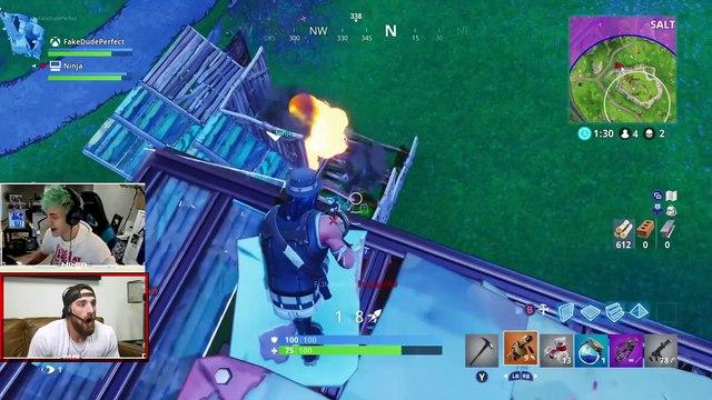 Fortnite with Ninja | Overtime 3 | Dude Perfect