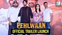 Pailwaan Official Trailer Launch | Kichcha Sudeep, Suniel Shetty | Krishna