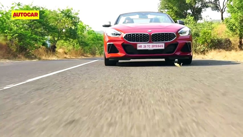 2019 BMW Z4 Roadster - First Drive Review - Autocar India