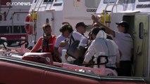 L'Open Arms, l'Ocean Viking et leurs rescapés en attente