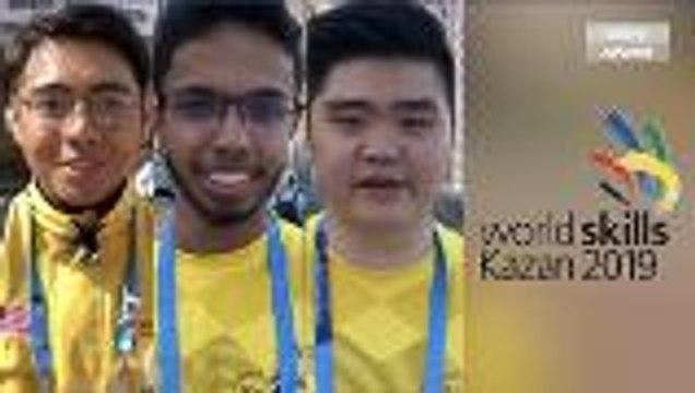 Peserta Malaysia tekad bawa pulang pingat emas untuk Kejohanan Kemahiran Dunia 2019