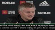 """Man Utd - Solskjaer sur Pogba et les insultes racistes : """"Ça le rend encore plus fort"""""""