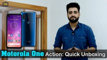 Motorola One Action: Quick Unboxing, Specifications, Benchmarks, And Camera Overview