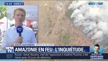 """Adrien Quatennens (LFI) sur l'Amazonie: """"On ne peut pas continuer avec un modèle économique qui a apporté son lot de destruction"""""""