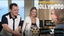 Quentin Tarantino y Margot Robbie hablan de Érase una vez en Hollywood