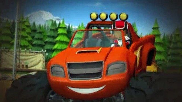 Blaze and the Monster Machines S01E14 Truck Rangers