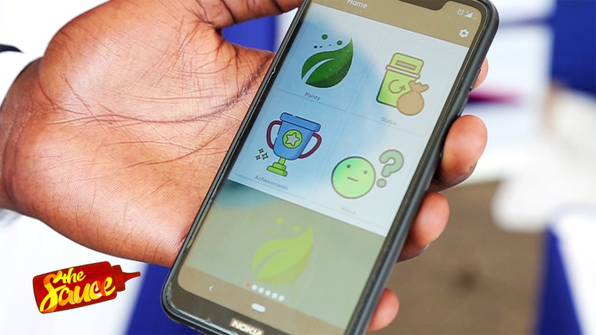 Kenyan varsity student develops game changing app that rewards users for recycling
