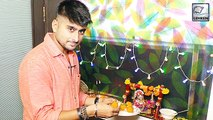 Deepak Thakur Decorates Krishna On The Occasion Of Janmashtami