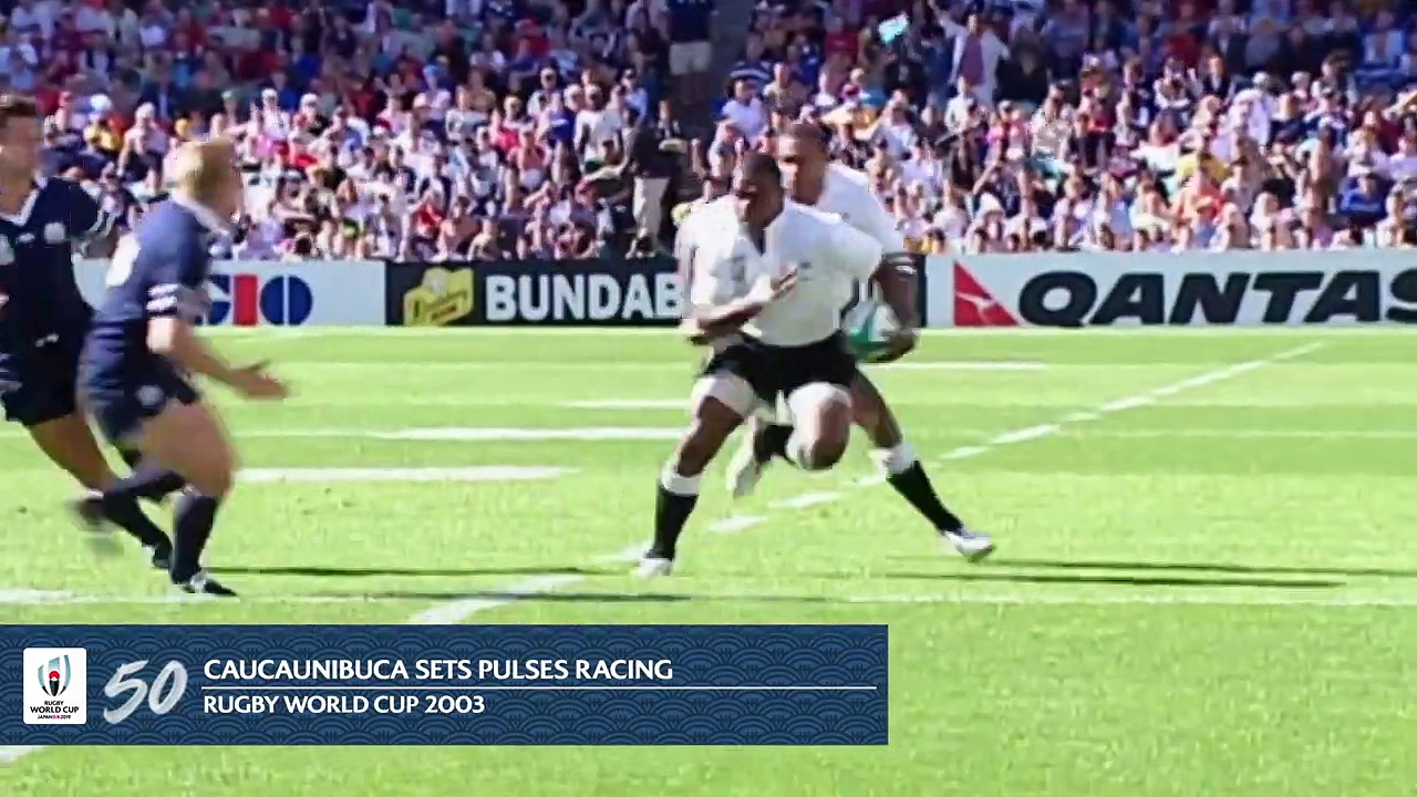 Most Memorable Moments in Rugby World Cup History : 50-41