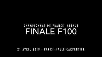 ASSAUT Finale France 2019 - F100 : TOUNKARA Moussou / BOTELA Christelle