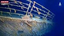 Titanic : de nouvelles images de l'épave dévoilent sa détérioration (vidéo)