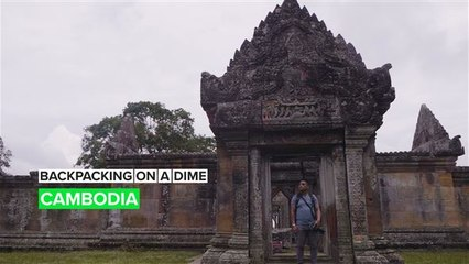 Backpacking to the mountain temple of Preah Vihear