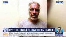 """Affaire Epstein: le parquet de Paris ouvre une enquête préliminaire en France, notamment pour """"viol"""" et """"agressions sexuelles"""""""