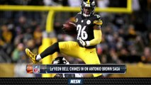 Le'Veon Bell (Hypocritically) Sounds Off On Antonio Brown Helmet Saga