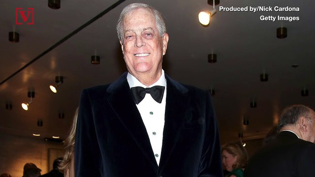 Billionaire Political Activist and Republican Party Mega Donor David Koch Dies